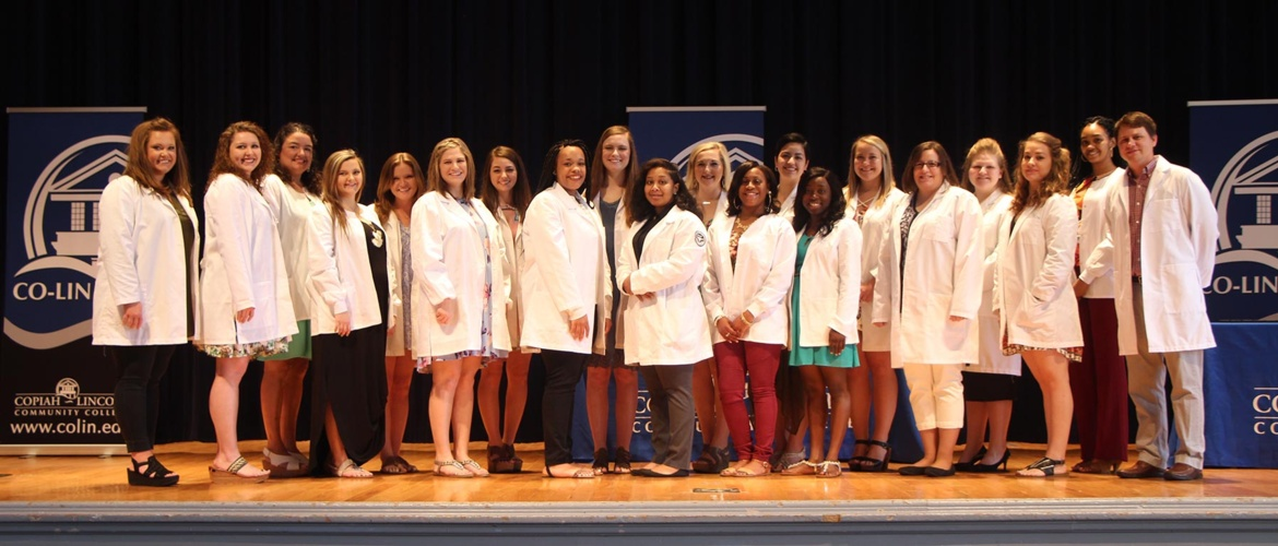 Mississippi Board of Nursing awards scholarships to Co-Lin nursing gradautes Picture