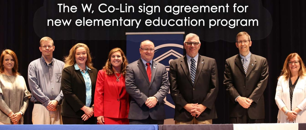 The W, Co-Lin sign agreement for new program Picture