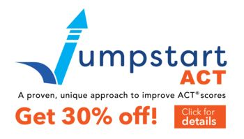Picture of Jumpstart ACT Logo. Get 30% off! Click for more details.