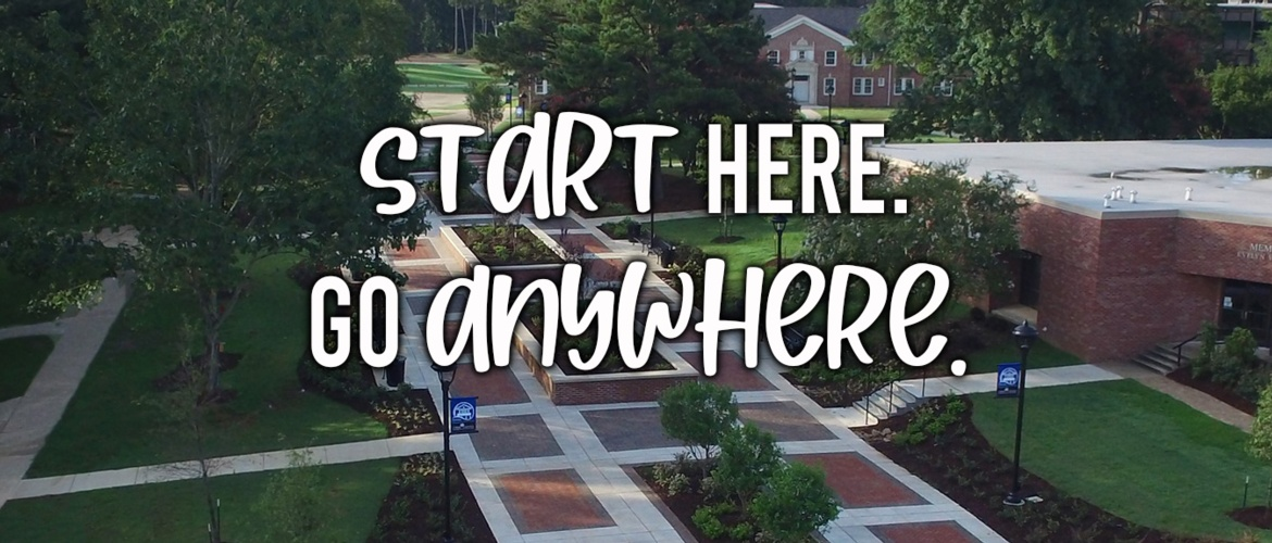 Start Here. Go Anywhere. Picture