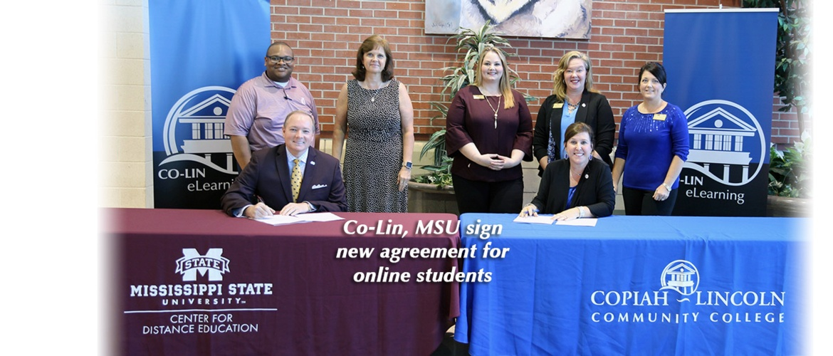 Co-Lin, MSU agreement Picture