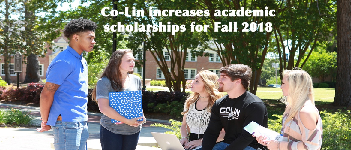 Co-Lin increases academic scholarships for Fall 2018 Picture