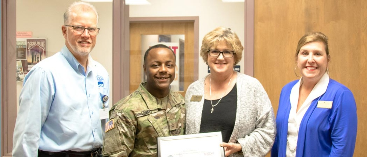 Natchez Campus Vice President receives Patriot Award Picture
