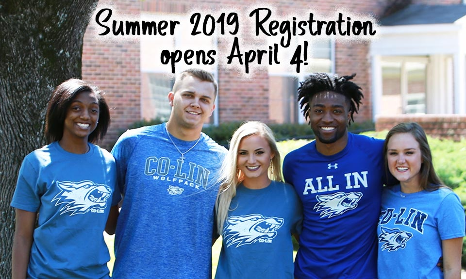 Summer 2019 Registration