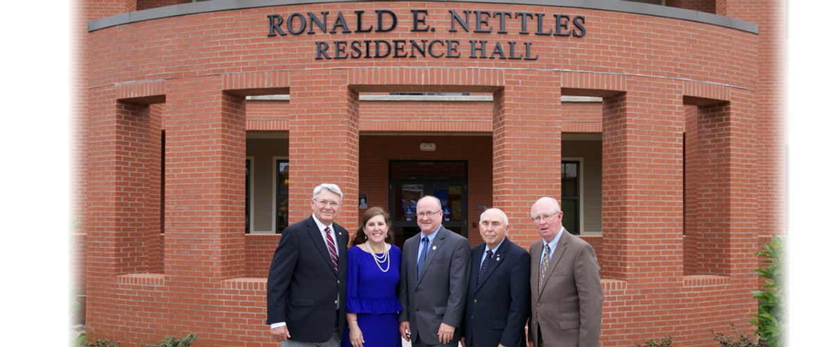 Nettles Hall Dedication Picture